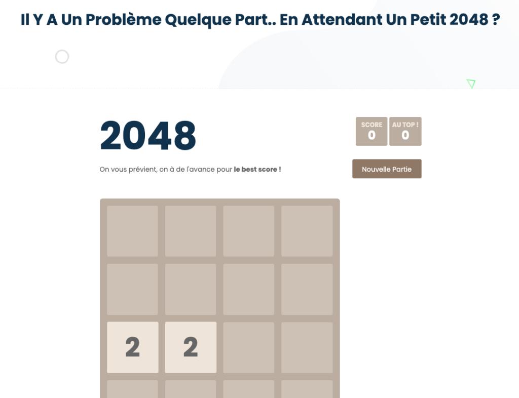 page 404 Works Agency erreur
